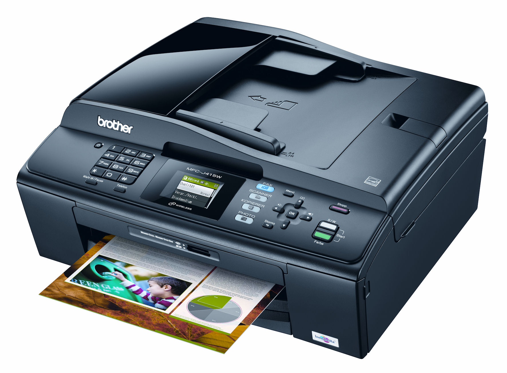 Brother Printers Require All Color Cartridges To Print Black And White