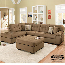 Malibu Mocha Sectional And Other Big Lots Furniture