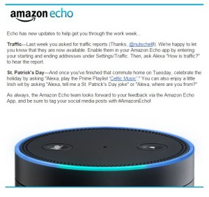 Echo Traffic Email