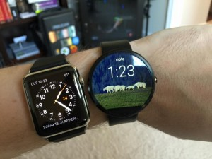 Apple Watch vs Moto360