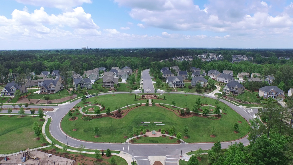 Phantom 3 Drone Neighborhood Shot