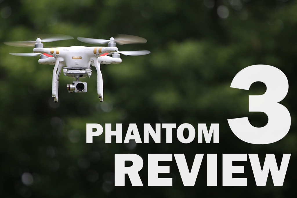 DJI Phantom 3 Professional Drone Multicopter Review