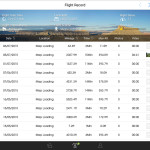 DJI Pilot App Flight Log